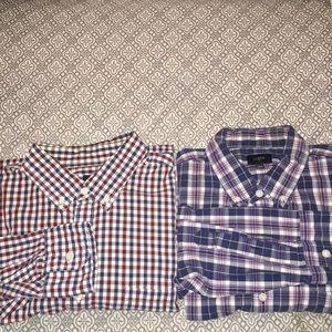 J. Crew men's dress shirts